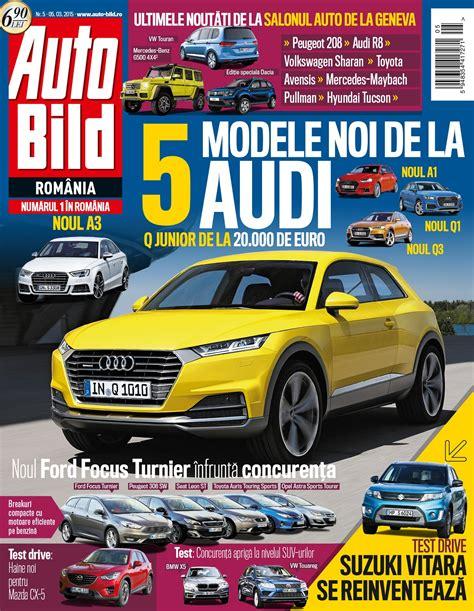 r馮lementation si鑒es auto revista auto bild nr 5 din 05 martie 2015 headline