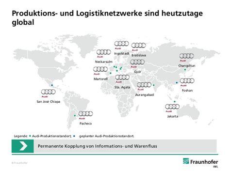 Produktionsstandorte Audi by Technik F 252 R Die Wandlungsf 228 Hige Logistik Industrie 4 0