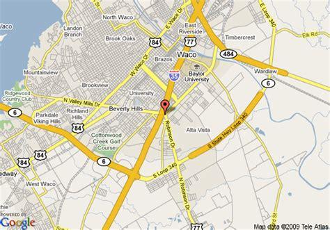 comfort directions map of comfort suites waco waco