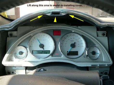 service manual how to remove dash from a 2006 buick rainier removing the dash to replace the