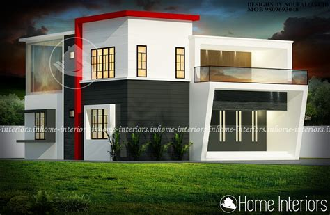contemporary modern house plan with 1700 square feet and 3 1700 square feet double floor contemporary budget home design