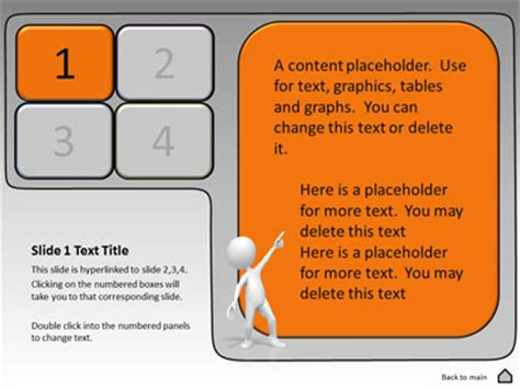 interactive powerpoint templates free show tool kit a powerpoint template from