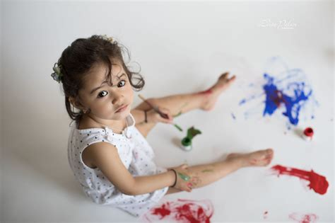 toddlers love painting  mess edita photography