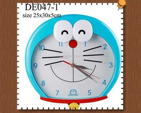 Jam Doraemon jam dinding doraemon collectibles products