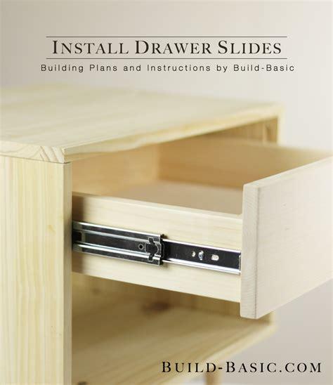 install drawer  build basic