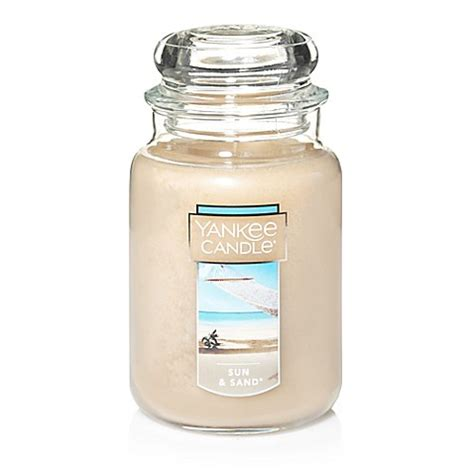 bed bath and beyond candles yankee candle 174 housewarmer 174 sun sand large classic
