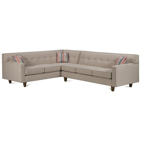 rowe dorset sofa rowe dorset corner sectional with tufted back becker