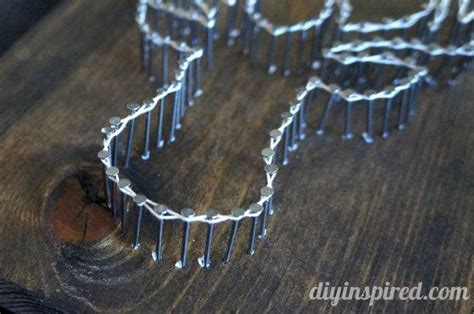Best Nails For String - diy nail and string best crafts on