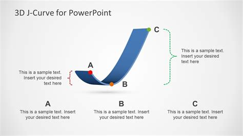 design effect in sling ppt 3d j curve template for powerpoint slidemodel