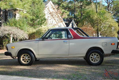 1978 subaru brat for 1978 subaru brat truck original nice nr