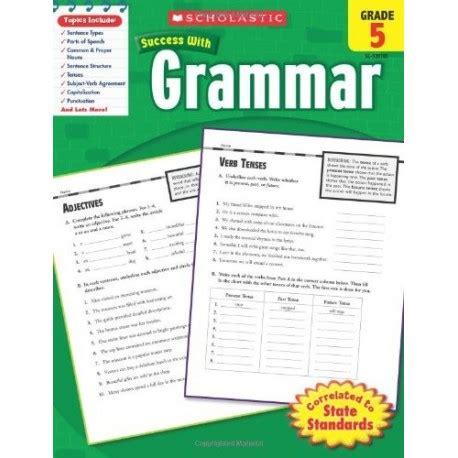 libro national 5 english success success with grammar grade 5 english wooks