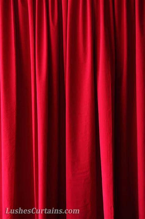 cherry red curtains custom church stage wedding backdrop cherry red velvet