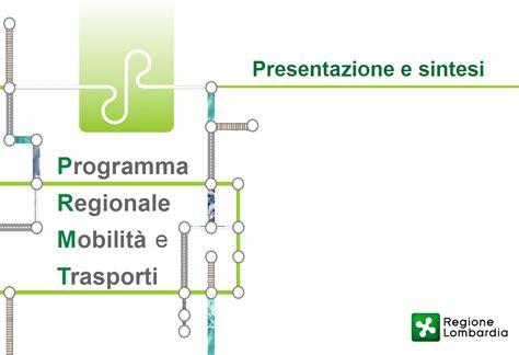 programma regionale mobilit 224 e trasporti sintesi uil
