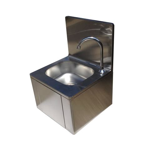 Stainless Steel Knee Operated Wash Basin Sink Easy