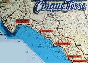 Italy Cinque Terre Map by There Is Beauty All Around Cinque Terre
