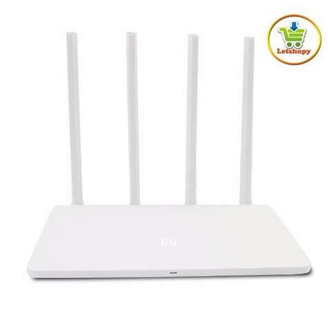 Original Xiaomi Mi Wifi Router 3 Ac1200 1167mbps 128mb With 4 Antenn original xiaomi mi wifi router 3c 4 end 8 18 2018 11 15 pm