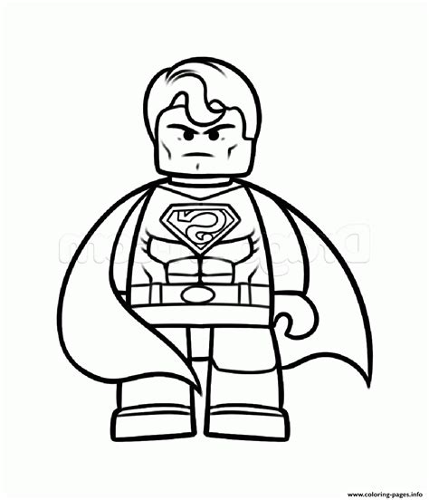 little lego coloring pages superman vs batman lego coloring pages printable