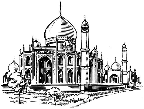 Mosque Drawing by File Mosque Psf Png The Work Of God S Children