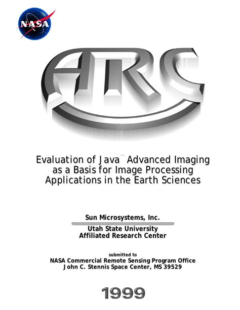 evaluation of java advanced imaging 1 0 2 as a basis