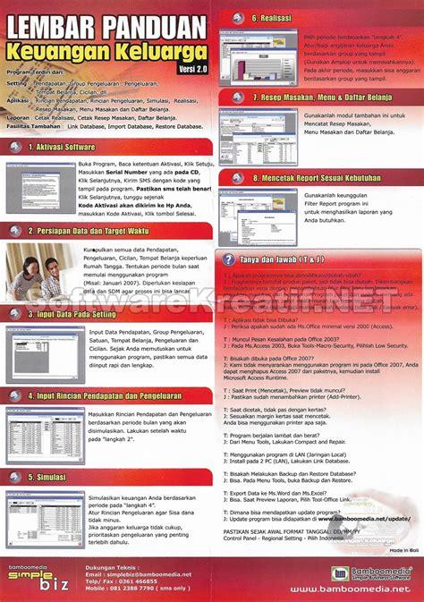 Software Aplikasi Keuangan Keluarga 1 jual software aplikasi keuangan keluarga 2 0