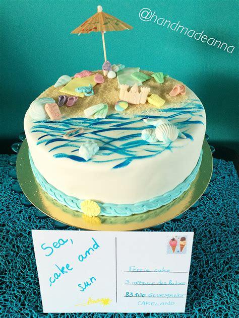 theme de blog qui rapporte le g 226 teau d 233 cor 233 quot vacances quot d annabelle f 233 erie cake