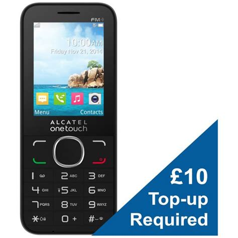 mobile phone o2 buy o2 alcatel 2045 mobile phone at argos co uk your
