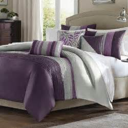 purple and grey comforter sets gray themed bedroom decor grey bedding and comforter sets