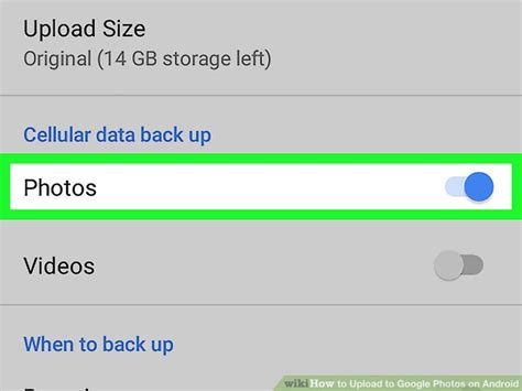 google images upload android how to upload to google photos on android 12 steps