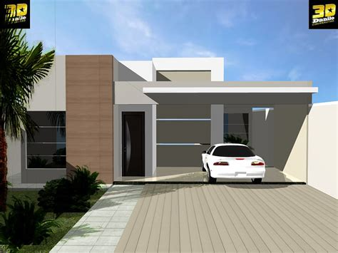 casa 3d 3danilo maquetes eletr 244 nicas 3d fachada 3d casa no b