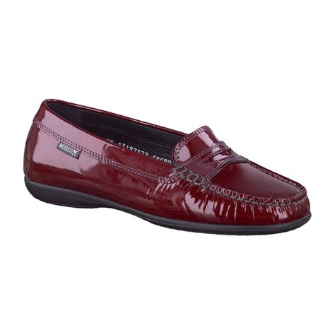 mephisto loafers mephisto axena loafer shoe in wine patent free delivery