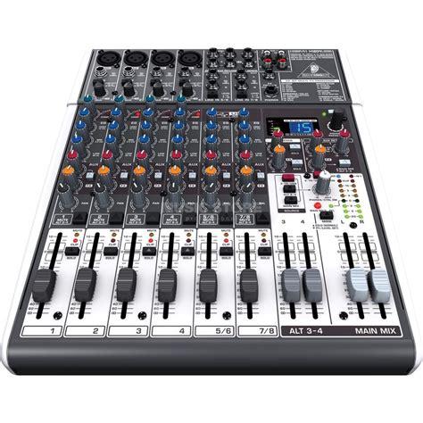 Mixer Behringer Xenyx 12 Channel Behringer Xenyx X1204usb 12 Channel Effect Mixer