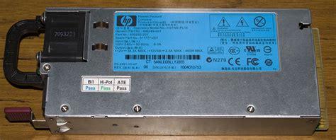 Power Supply Server Hp G6 inside the hp ml350 g6 server power supply