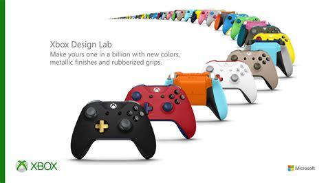 design lab xbox uk microsoft s xbox design lab custom controllers are now