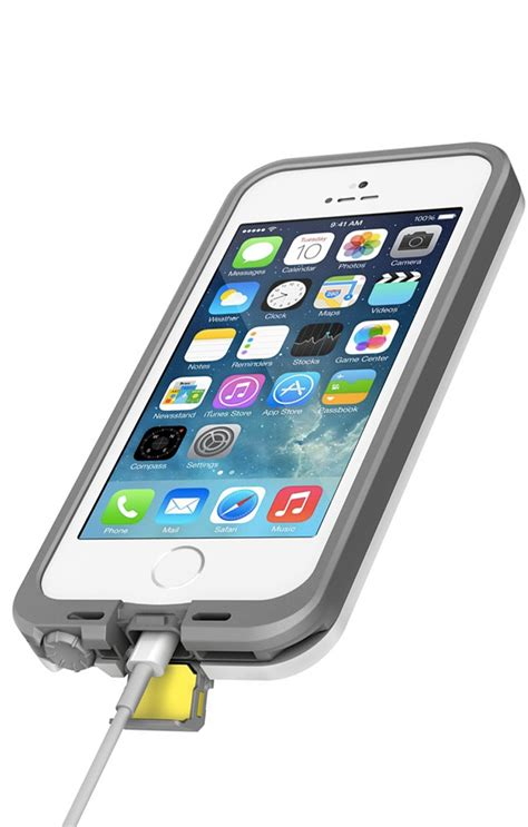 Lifeproof Fre White Iphone 5 lifeproof fre waterproof shock proof dirt proof for