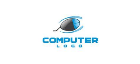 design logo komputer logo firmy komputer szablon wektora pliki psd darmowe
