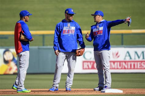 cubs bench cubs defensive versatility allows joe maddon to stretch