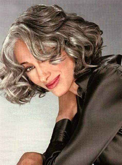 gray hair styles for women at 50 30 hairstyles for over 50 long hairstyles 2017 2018