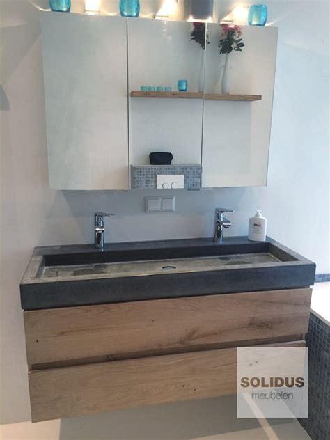 eiken badkamermeubel onderhoud badmeubel hangend 187 solidus meubelen