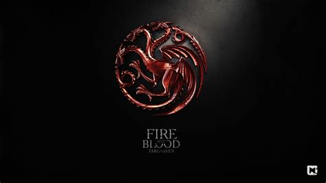Kaos House Targaryen Of Thrones A Song Of And And Blood Of Thrones