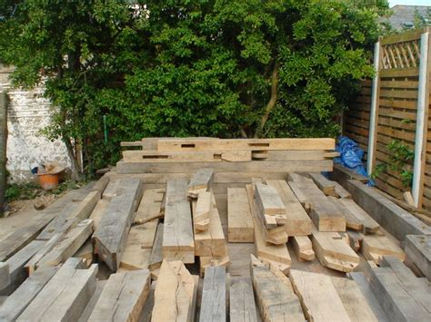 Building With Railway Sleepers by New Oak Building From Railway Sleepers