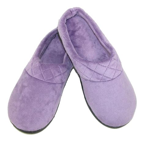 dearfoams slipper womens microfiber velour clog slipper by dearfoams