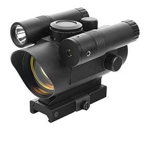 Green Dot Laser Riflescopeflashlighrechargeable ncstar vism dot with integrated green laser and