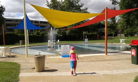 toddler swimming pools splash parks and water play in canberra canberra