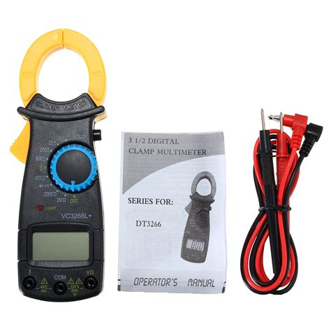 Meter Digital vc3266l digital cl meter multimeter electronic ac dc volt voltage ohm tester meter