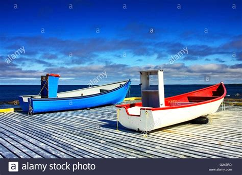 small fishing boats of newfoundland newfoundland fishing boats stock photos newfoundland