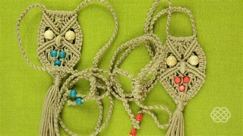 Macrame How To Make - how to make a macrame owl necklace 171 jewelry wonderhowto