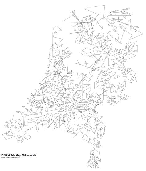 netherlands map black and white zipscribble map the netherlands