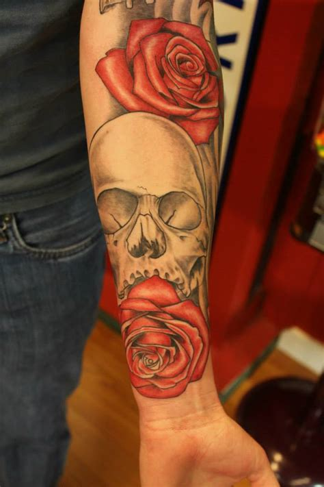 tattoo prices salem oregon skull and rose sleeve in progress the ink underground salem