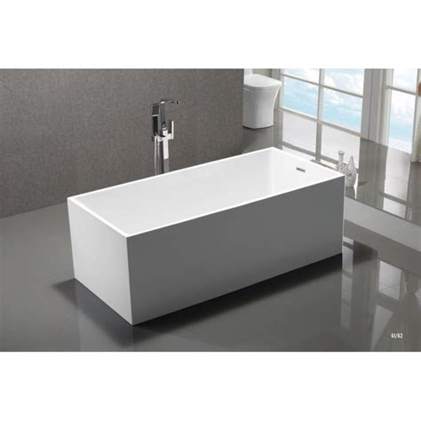 longest bathtub mtd vanities mtd long 60 long beach white freestanding