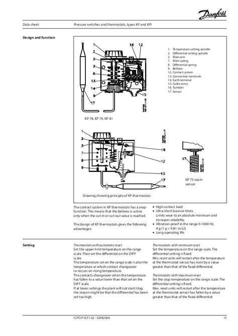 danfoss pressure switch wiring diagram danfoss pressure
